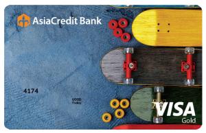 Visa Gold «Cats»/ «Skates»