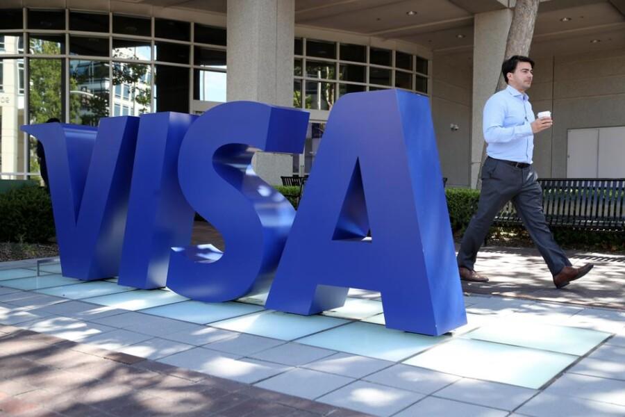 Чистая прибыль Visa во II квартале превзошла прогноз благодаря росту онлайн-покупок