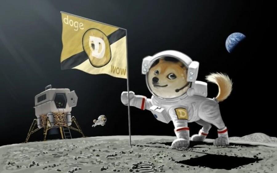 SpaceX в 2022 году отправит к Луне спутник, оплаченный криптовалютой Dogecoin