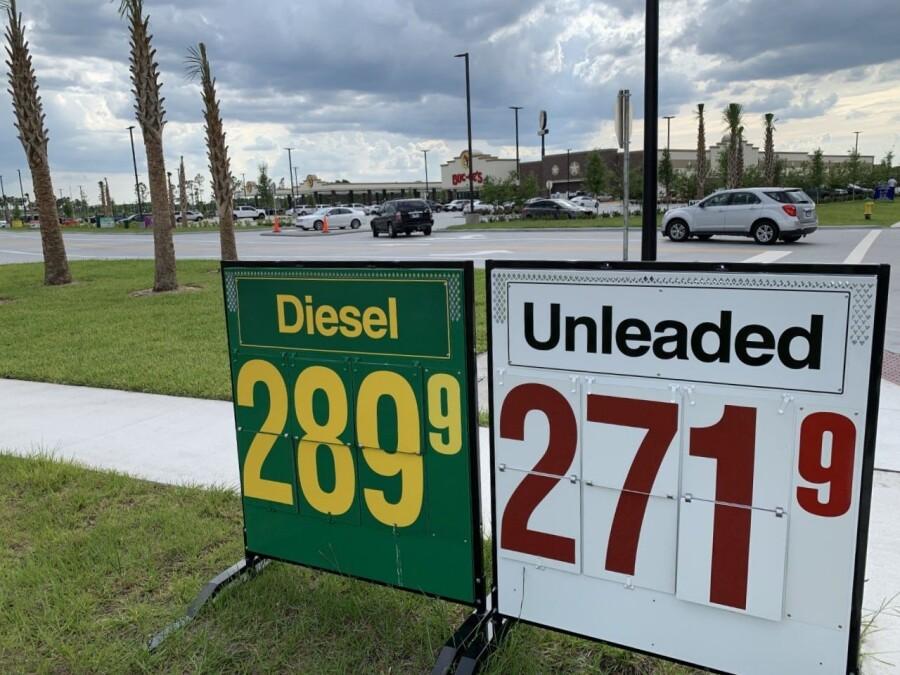 В США стоимость бензина остается на рекордно высоких показателях