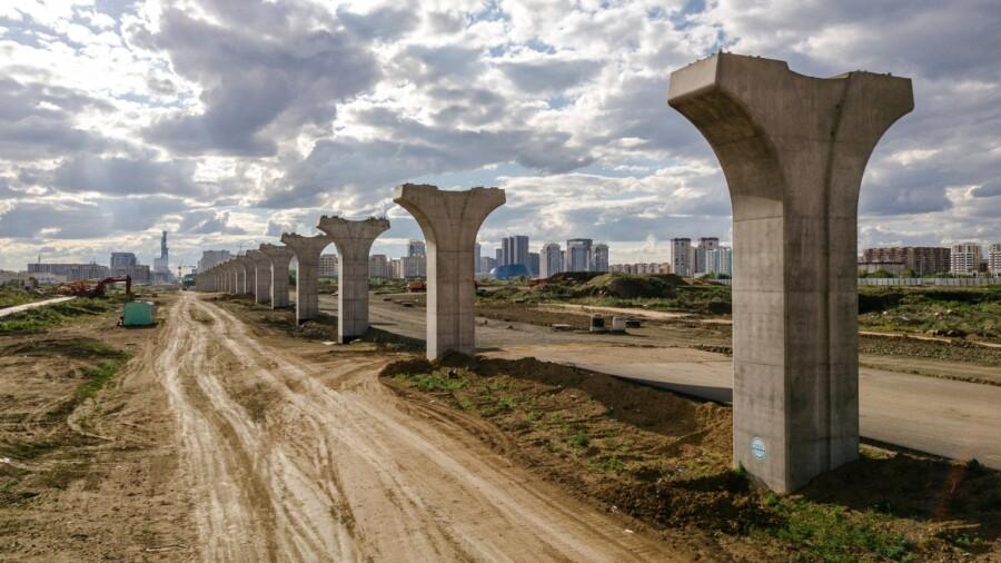 Свыше $116 млн еще должно CTS за незавершенную линию «Астана LRT»