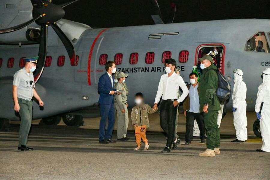 Минобороны Казахстана эвакуировало из Афганистана 41 человека